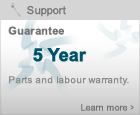 Sterling 5 Year Warranty